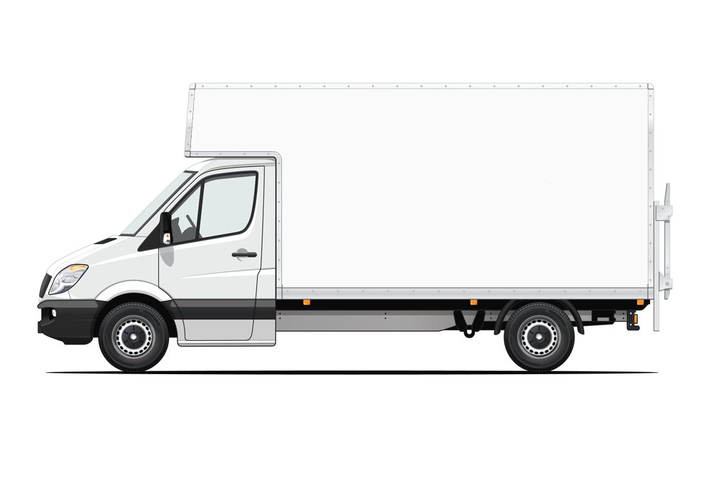 Luton Van Same Day Delivery (Optional Tail lift)