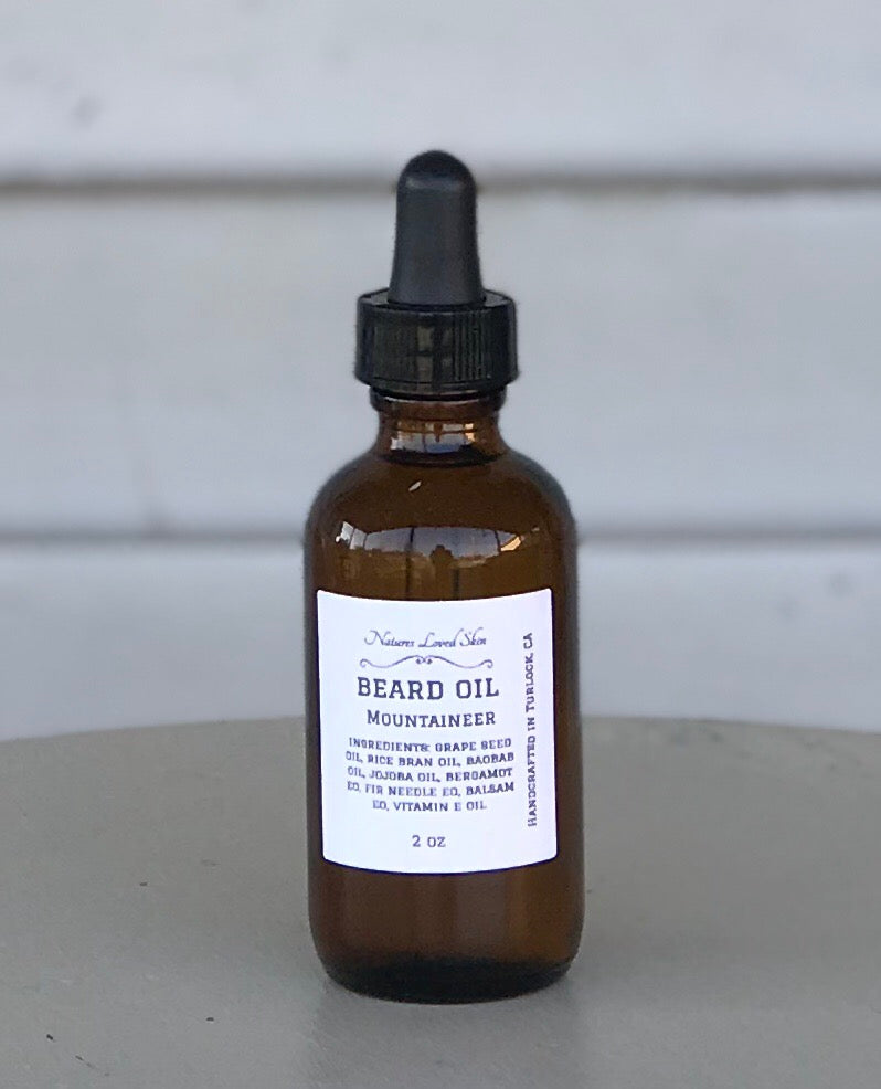 Mountaineer Beard Oil