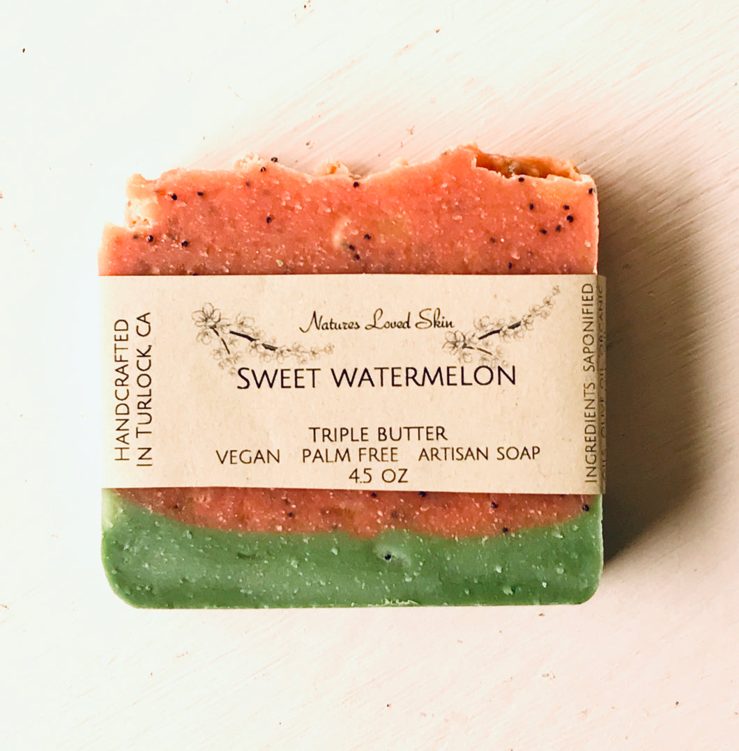 Sweet Watermelon Soap