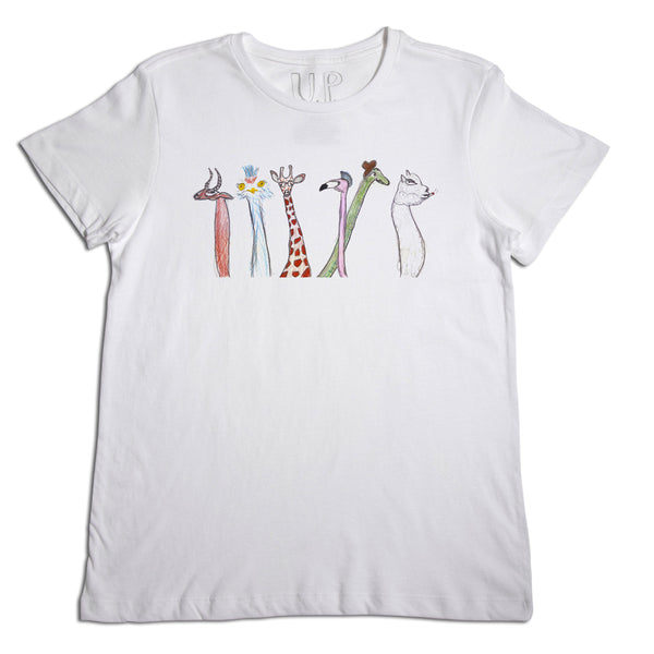 Animal Long Neck Men's T-Shirt