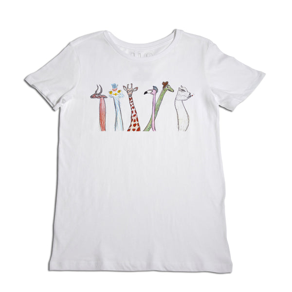 Animal Long Neck Women's T-Shirt