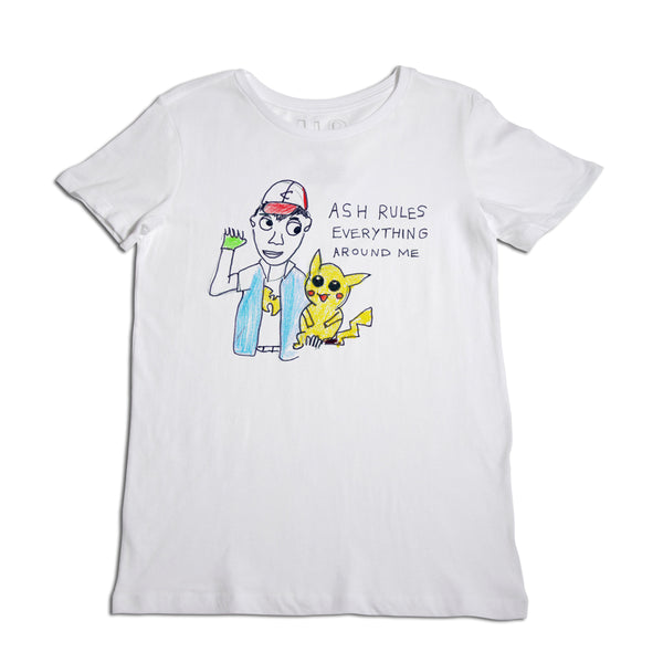 Ash Rules Women's White T-Shirt