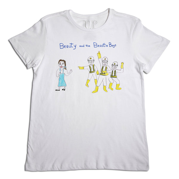 Beauty and the Beastie Boys Men's T-Shirt