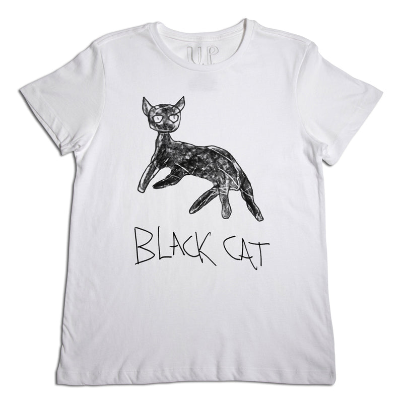 Black Cat Men's T-Shirt