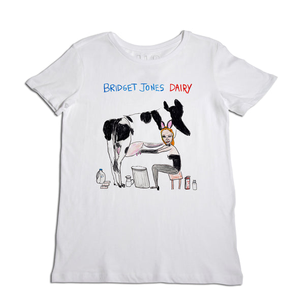 Bridget Jones Dairy Women's White T-Shirt