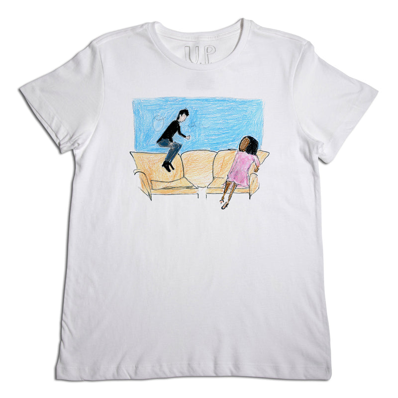 Couch Jumping Men's T-Shirt