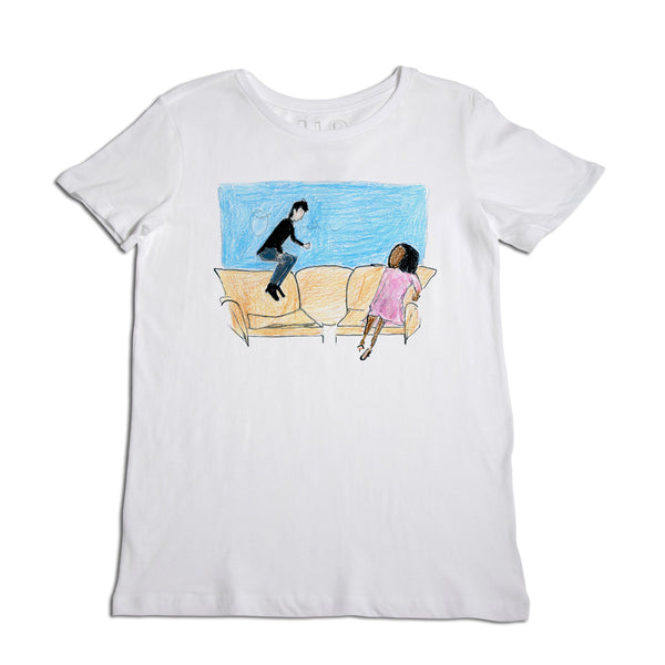 Couch Jumping Women's T-Shirt