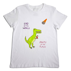 End of the World Dino Men's T-Shirt