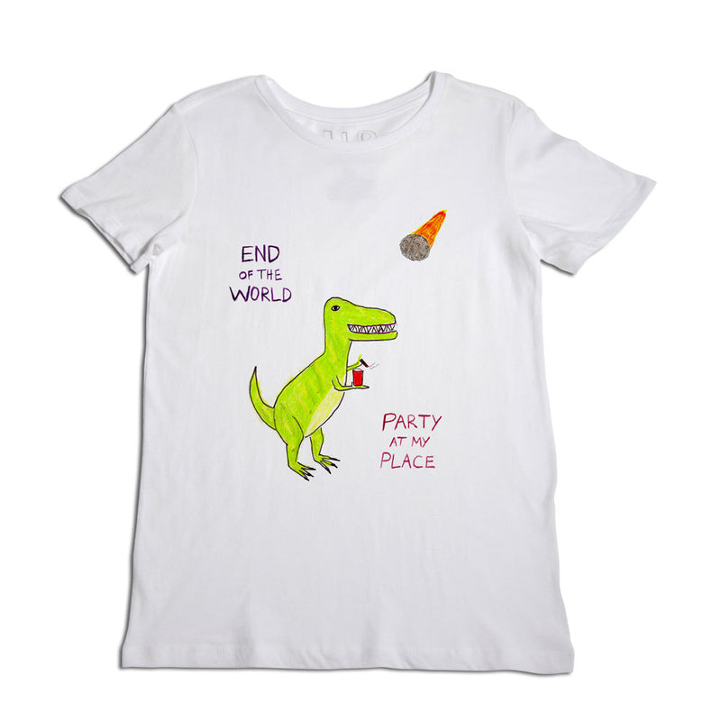 End of the World Dino Women's T-Shirt