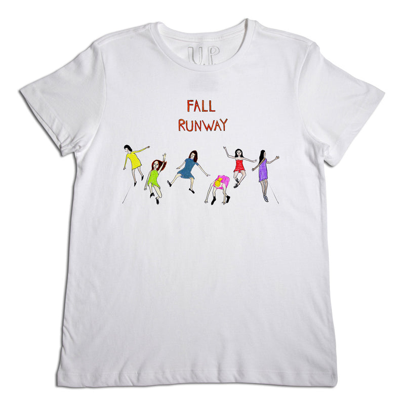 Fall Runway Men's White T-Shirt