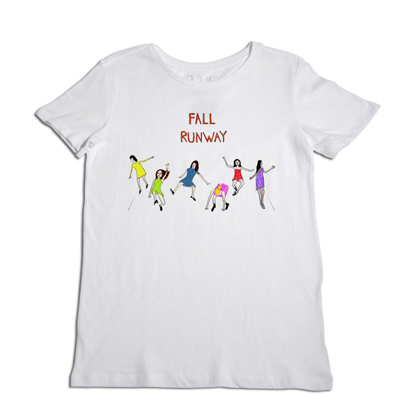 Fall Runway Women's White T-Shirt