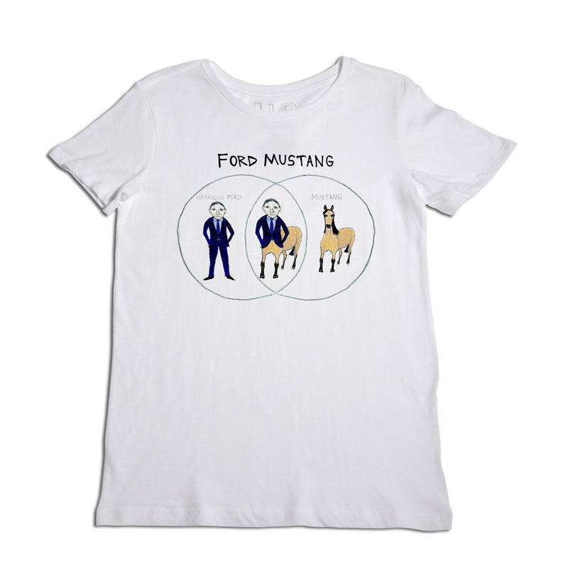 Ford Mustang Women's T-Shirt