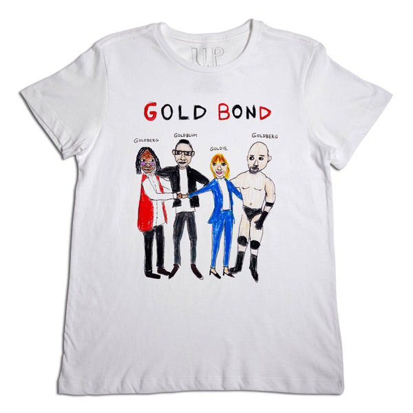 Gold Bond Men's White T-Shirt
