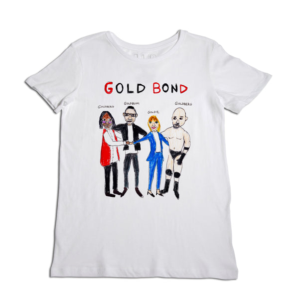 Gold Bond Women's White T-Shirt