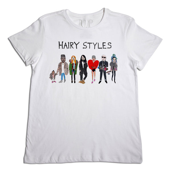 Hairy Styles Men's T-Shirt