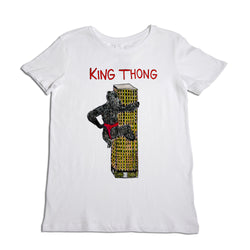 King Thong Women's White T-Shirt