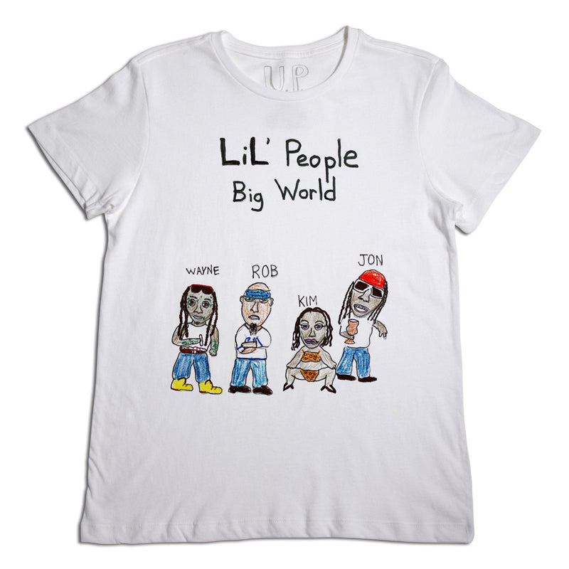 Lil' People Big World Men's T-Shirt
