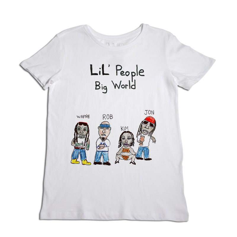 Lil' People Big World Women's T-Shirt