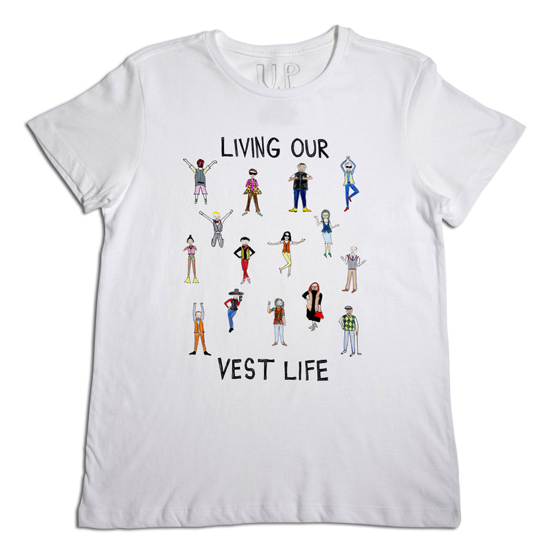Living our Vest Life Men's T-Shirt