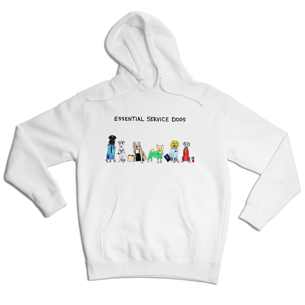 Essential Service Dogs Unisex Hoodie