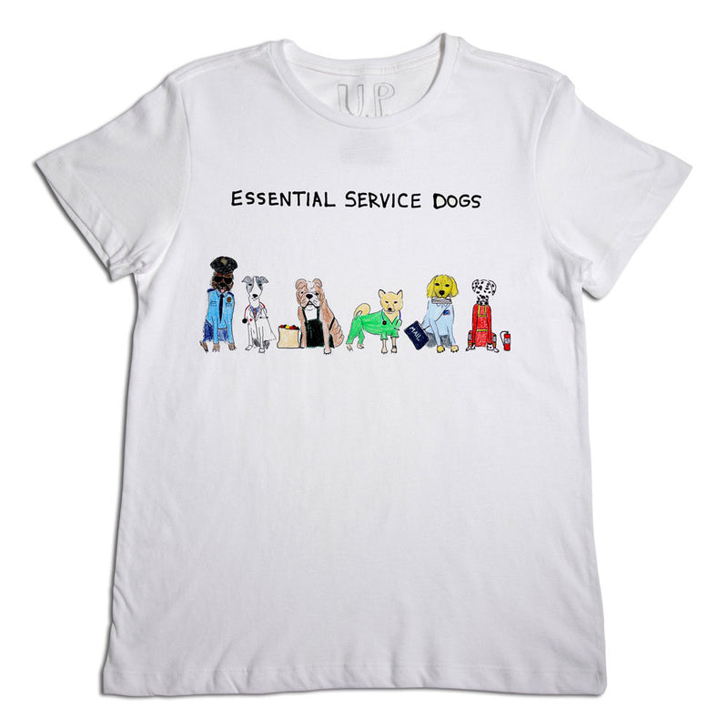 Essential Service Dogs Men's T-Shirt