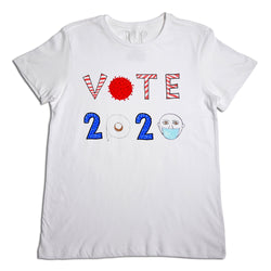 Vote 2020 Men's White T-Shirt