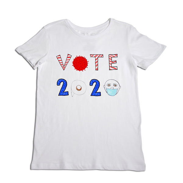 Vote 2020 Women's White T-Shirt