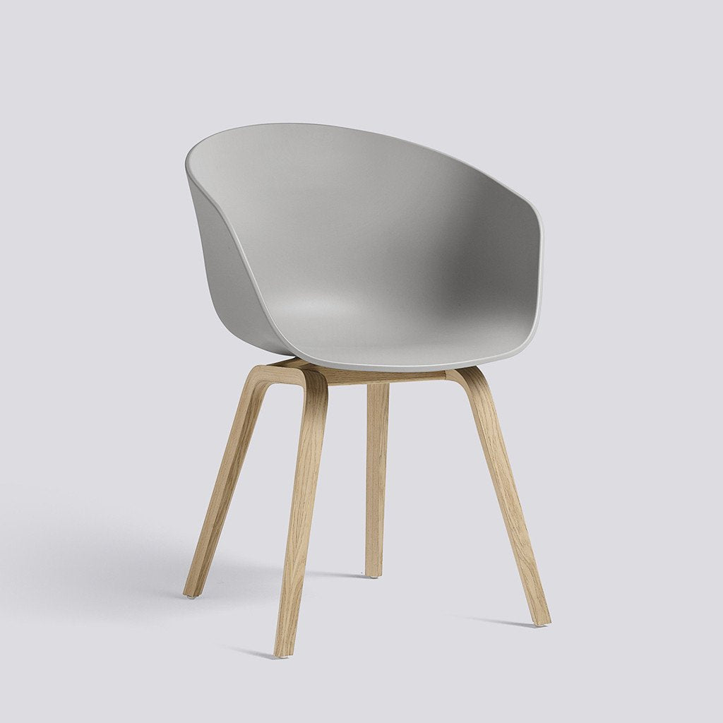 Hay About a chair, Stuhl, Schalensessel, Concrete Grey