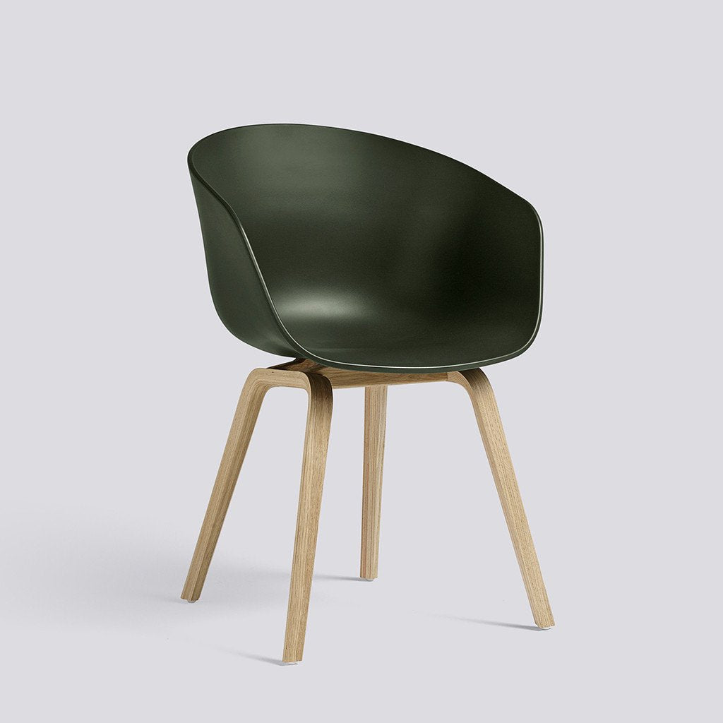 Hay About a chair, Stuhl, Schalensessel, green