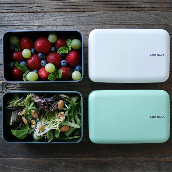 Takenaka Lunch Box / Bento Rectangle, Made in Japan