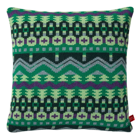 Arctic Cushion – Green/Purple, Donna Wilson