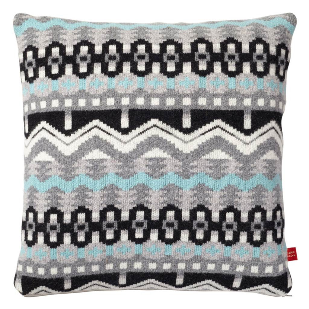 Arctic Cushion – Grey/Black, Donna Wilson