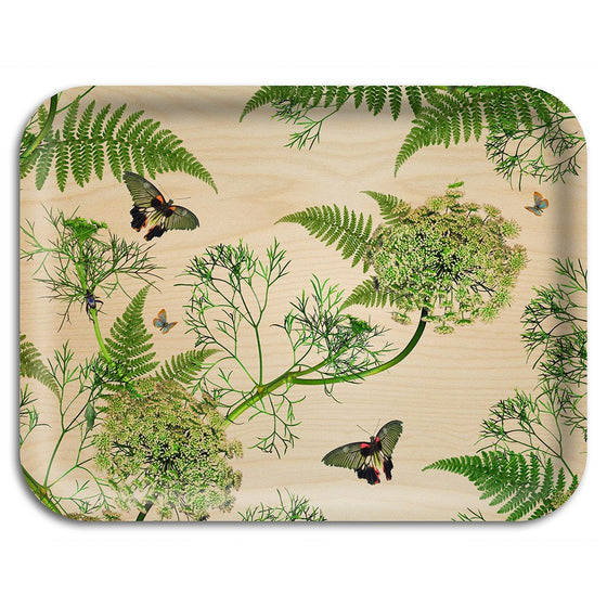 "Tablett ""Dill natural"" 43 x 33cm, Ary trays"