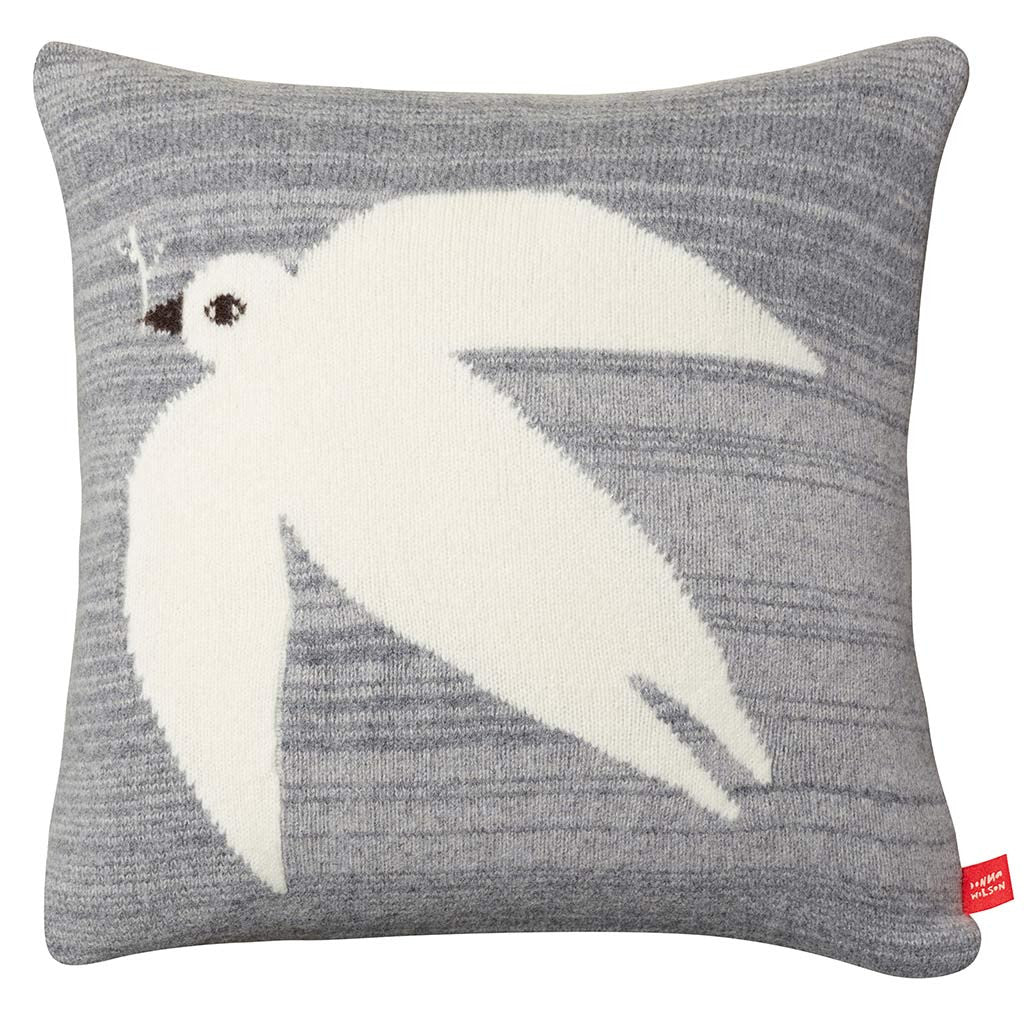 Dove Cushion / grey