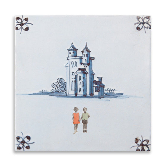 "Wandkachel S ""Happily ever after"" von Story Tiles"