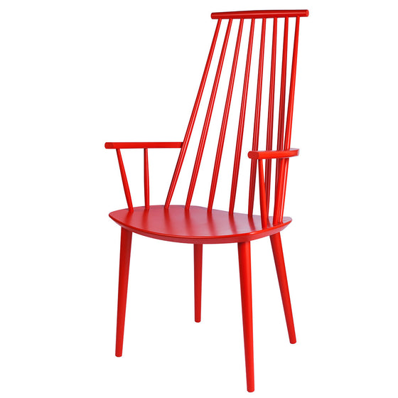 Hay, J110 dining chair, coral