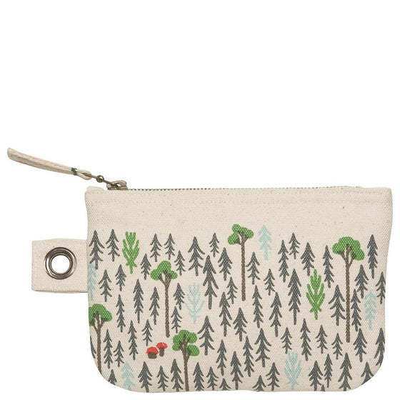 "Zipper Pouch  S ""Retreat"" Danica"