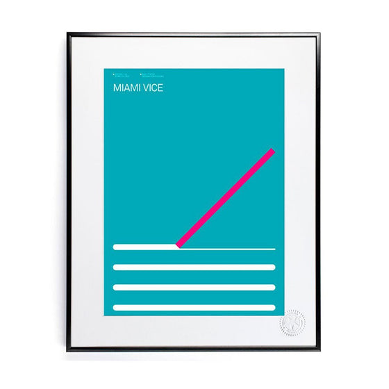 Miami Vice 30x40 / 56x76, Image Republic