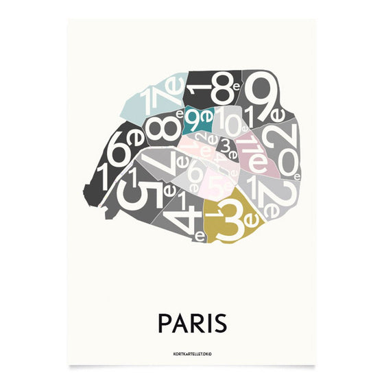 Plakat Paris, Special Edition, 50 x 70 cm