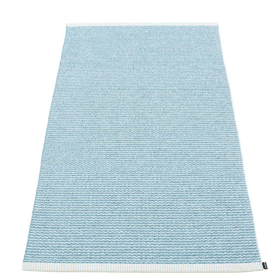 "Teppich ""Mono"",Misty Blue/Ice Blue, in & outdoor"