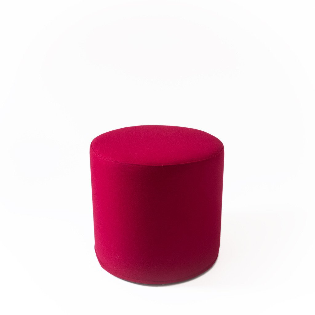 "Hocker ""Drum"" hoch, Softline, Rot"