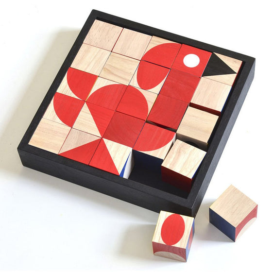 Facemaker Holzpuzzle Deluxe