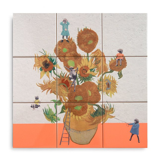 "Story Tiles Tableau ""Sunflower Expedition"""