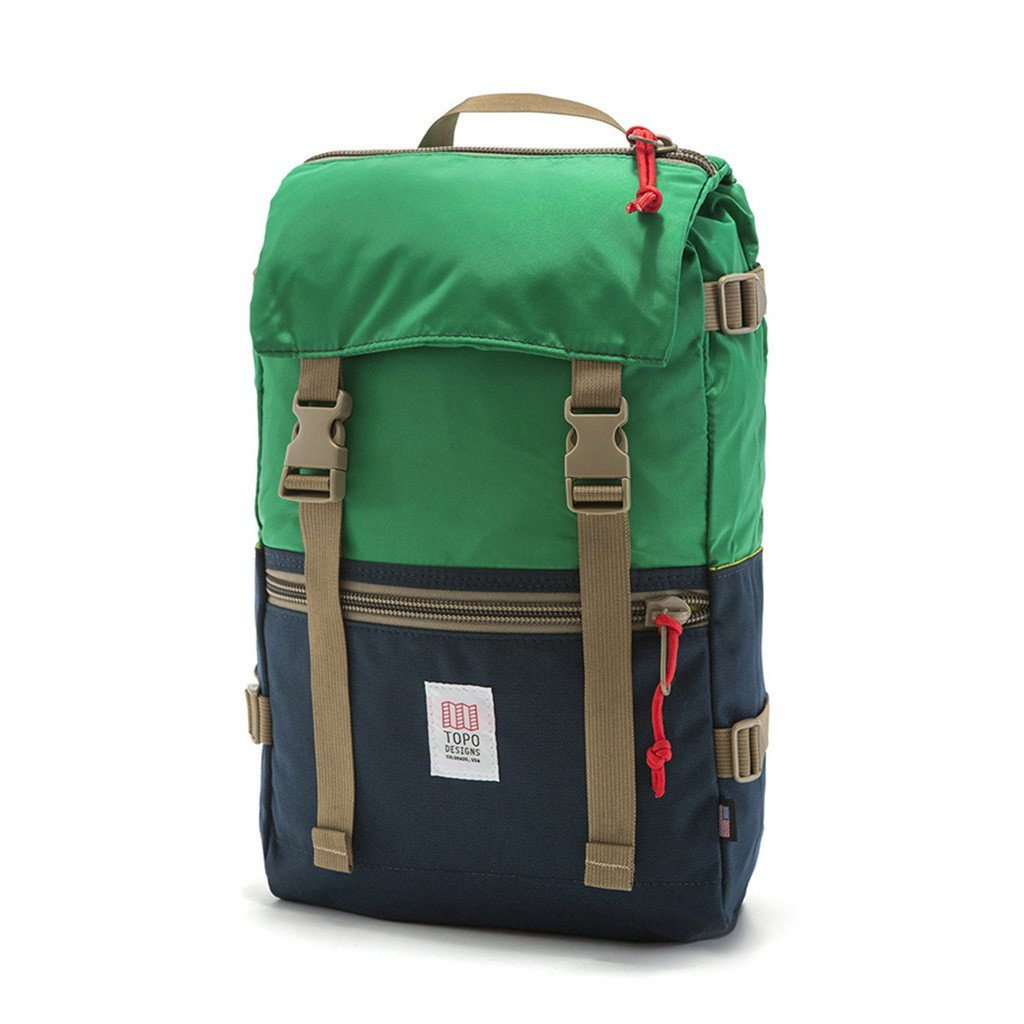 Topo Designs, Colorado, Rover pack, Kelly navy