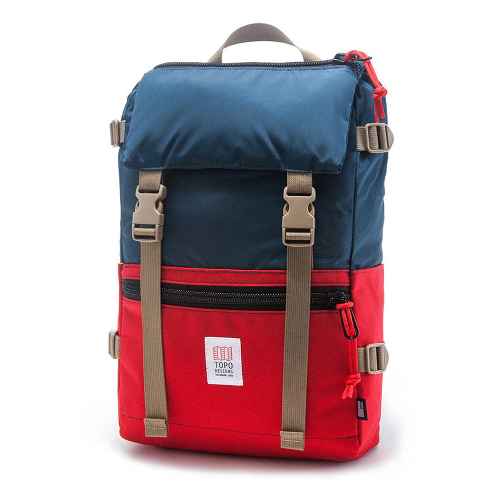 Topo Designs Colorado, Rover pack, navy red