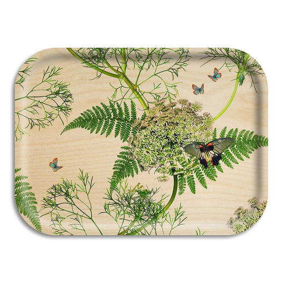 "Tablett ""Dill natural"" 27cm x 20 cm, Ary trays"