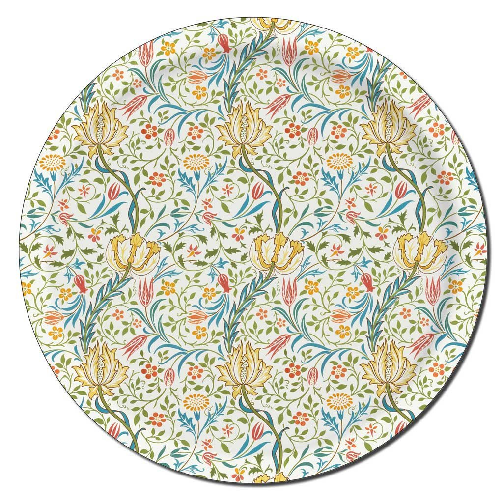 "Tablett ""Flora"" by William Morris  Ø 38cm, Ary trays"