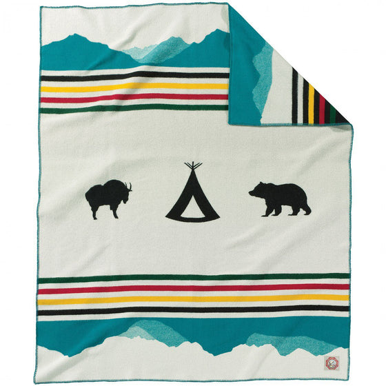 Glacier National Park 100th Anniversary Blanket