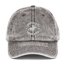 Load image into Gallery viewer, Vintage Cotton Twill KKC Cap - Kentucky Koffee Co., LLC