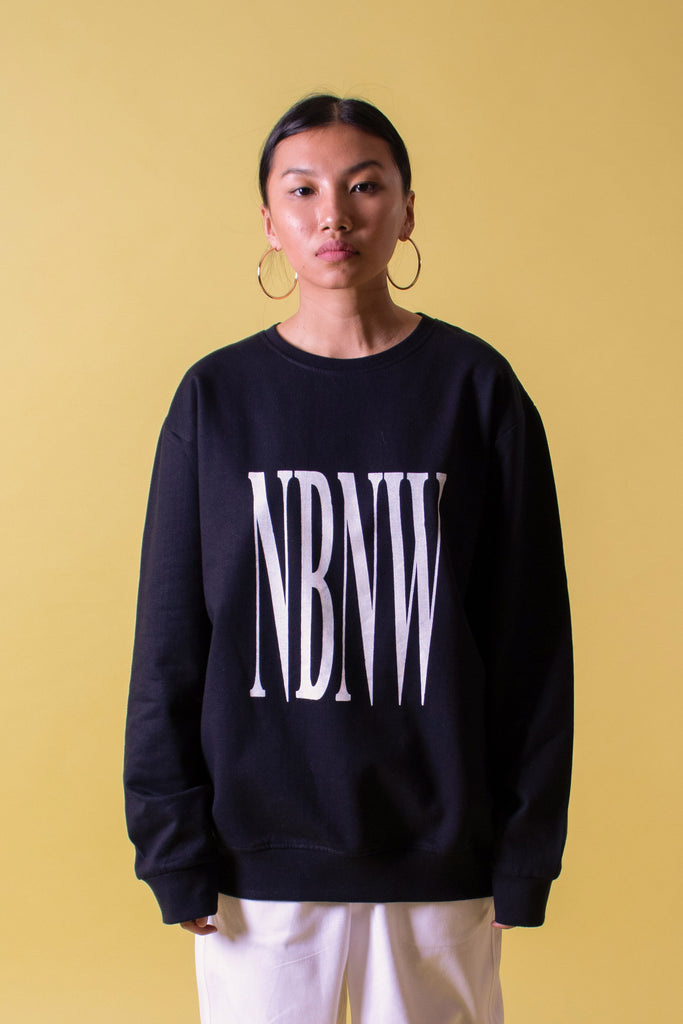 NBNW SWEATSHIRT - BLACK